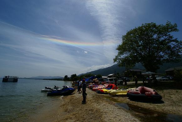 琵琶湖の湖岸にあるカフェ 「R cafe」_f0102363_2261670.jpg