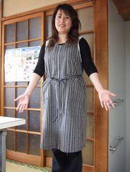 洋裁教室 ~生徒さんの作品3_e0143294_17184354.jpg