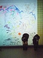 新津美術館でやまなしの朗読×ライブペイント_e0031142_15491014.jpg