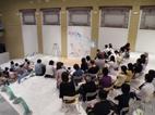 新津美術館でやまなしの朗読×ライブペイント_e0031142_15523775.jpg