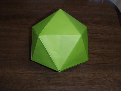 ハート 折り紙 正多面体 折り紙 : origami.exblog.jp