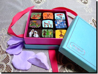 これもMarie Belle のチョコレート