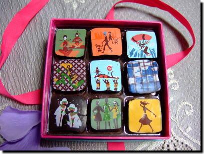 同じくMarie Belle のチョコレート