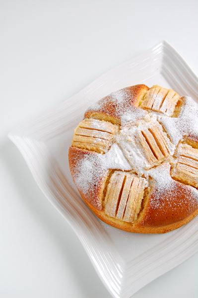 6月の ドイツ風・リンゴケーキ Apfelkuchen_a0003650_105558.jpg