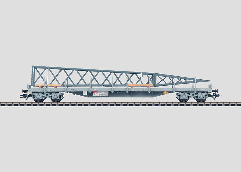 Flachwagen mit Rungen und Ladegut. Rs SBB_c0018117_2333129.jpg