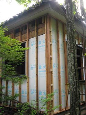断熱改修の家 13 付加断熱下地_e0054299_9524881.jpg