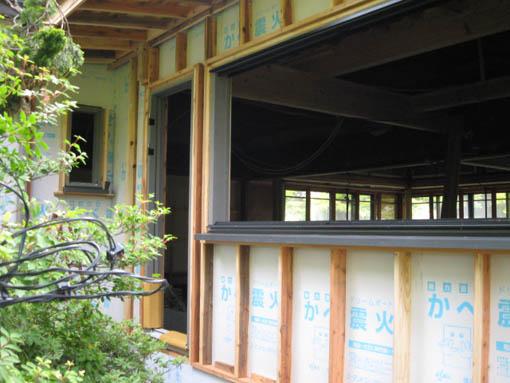 断熱改修の家 13 付加断熱下地_e0054299_9525956.jpg