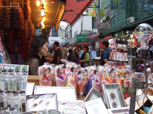 韓国旅行ー2(南大門市場)_b0137932_22194025.jpg