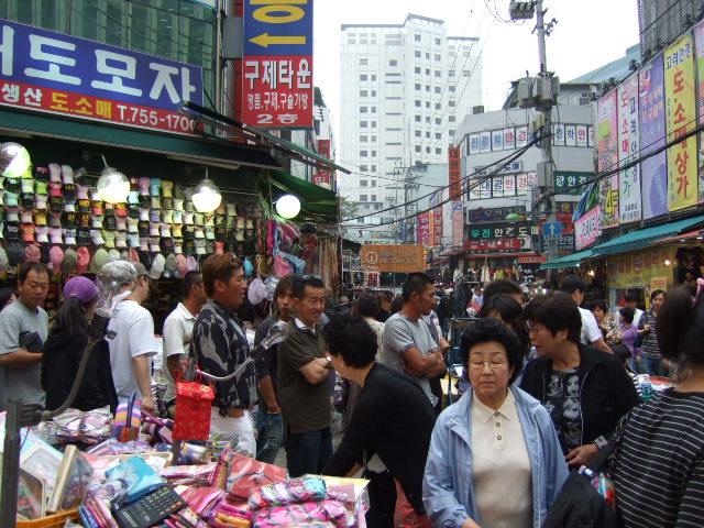 韓国旅行ー2(南大門市場)_b0137932_2285489.jpg
