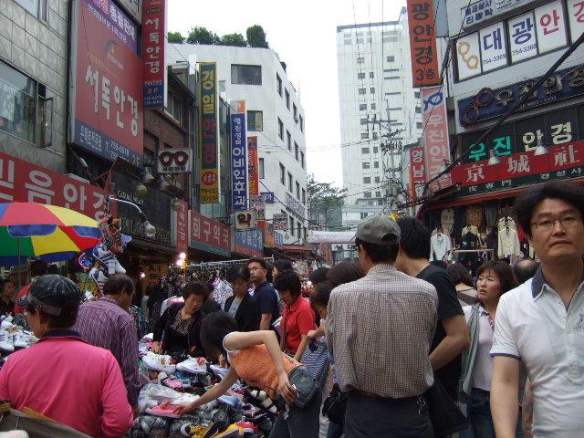 韓国旅行ー2(南大門市場)_b0137932_2292899.jpg
