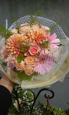 ダリアの花束_c0137266_14372625.jpg