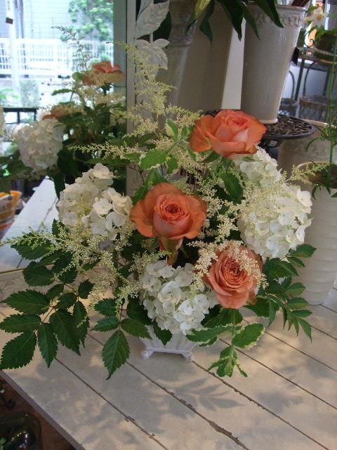 オークリーフ花の教室(川嶋さんの作品)_f0049672_1644662.jpg