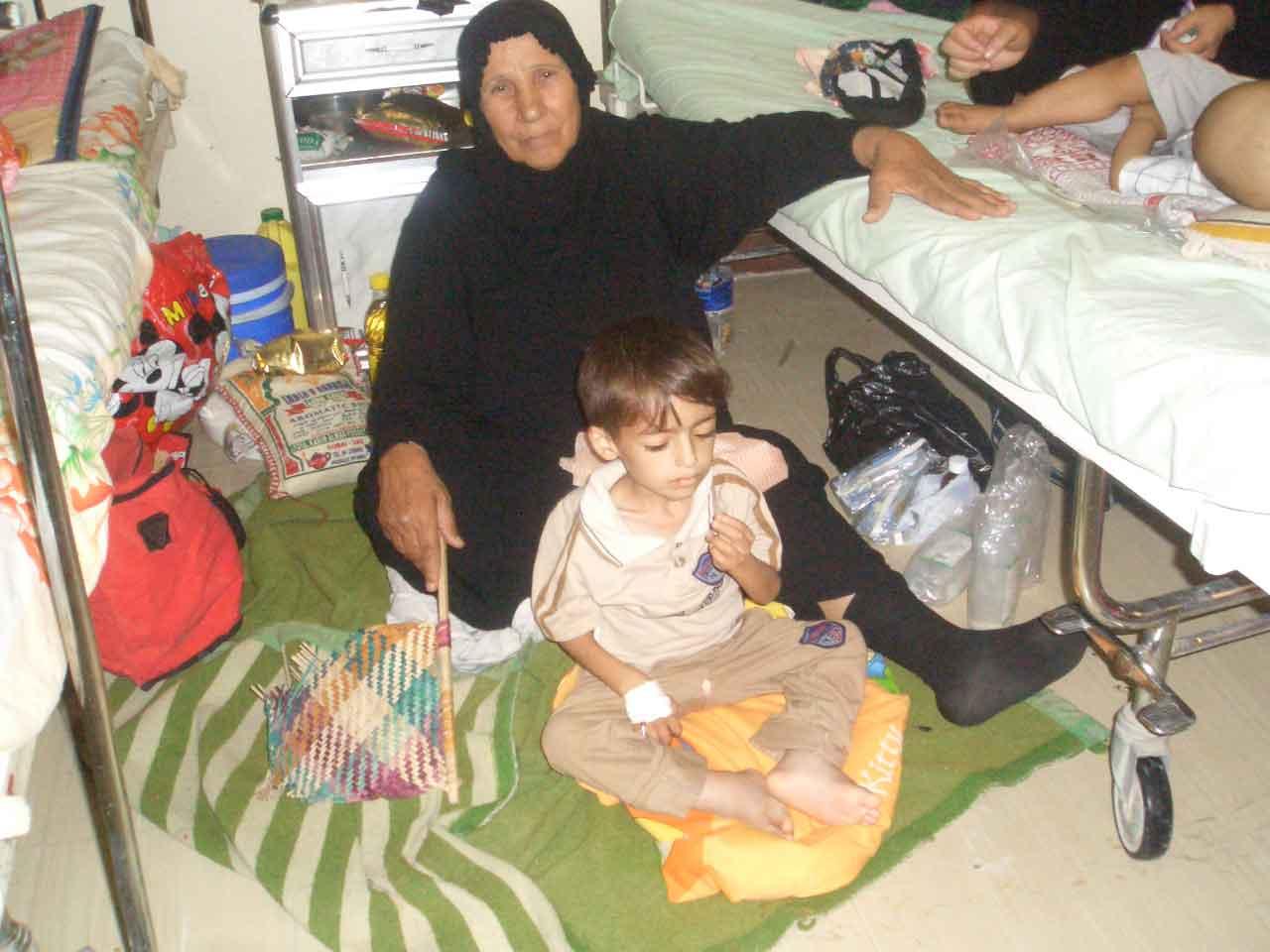 バスラ産科小児科病院への給水,ついに11回目を記録_f0155297_1372222.jpg