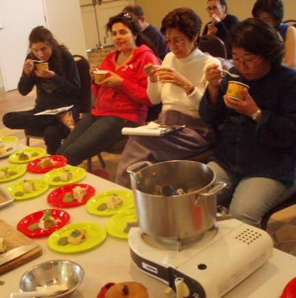 サンタモニカ滞在日記 <最後は料理教室> ⑪ ♪_f0095325_2251582.jpg