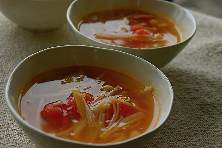えのき の スープ