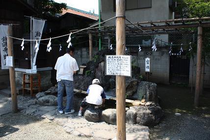 川越 熊野神社(銭洗弁財天)_d0044093_2311151.jpg