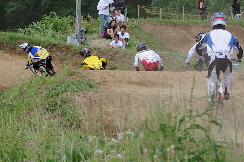 2008JOSF緑山6月定期戦VOL5:BMXエキスパートクラス予選_b0065730_20593454.jpg