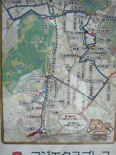 ハチ公バス路線図_a0075684_22324118.jpg