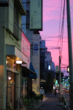 夕陽とsajilo!_b0140723_233629100.jpg