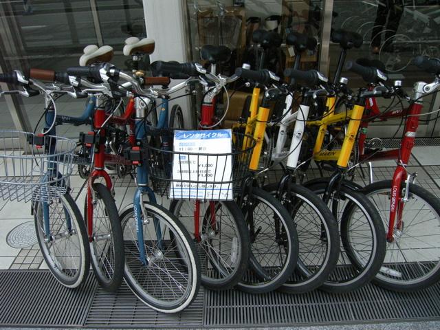 横浜のレンタサイクル : 新潟:ニ...