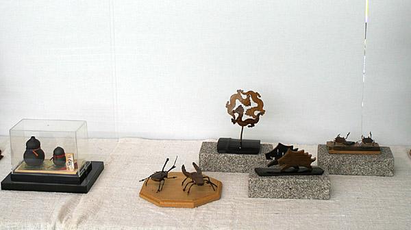 炭の芸術展示品_e0122208_8223067.jpg
