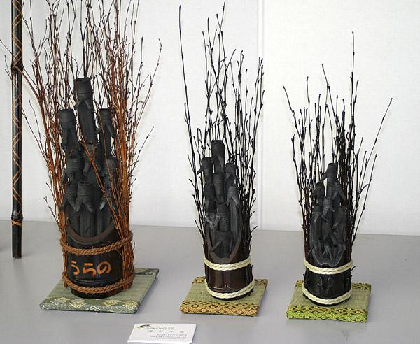 炭の芸術展示品_e0122208_825126.jpg