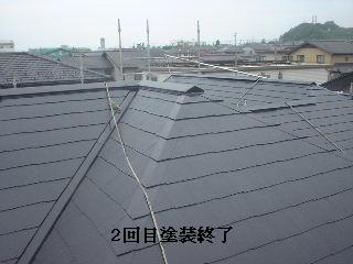 屋根塗装・完成_f0031037_19123241.jpg