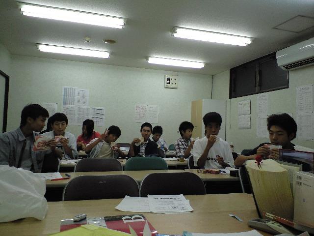 期末テスト直前対策講座終了↗1年生に雷を落とす↘_d0116009_7272631.jpg