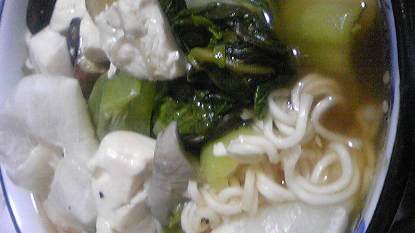 ベジタリアンのための豪華野菜麺_a0053923_0161227.jpg