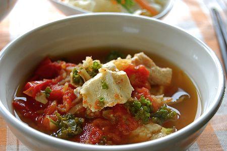 トマト豆腐のコトコト生姜煮_e0110659_103238100.jpg