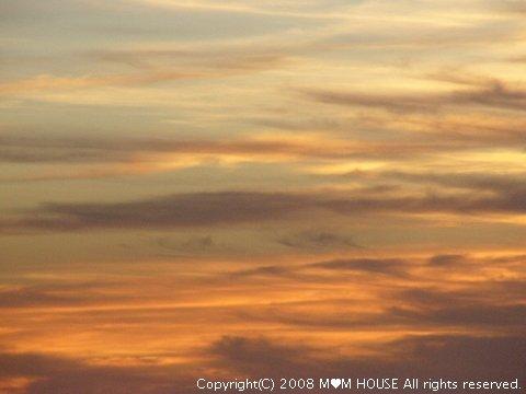 チリコンカンdeグラタン風☆ 夕焼け~♪ 海の夕焼け~♪_c0139375_1942615.jpg