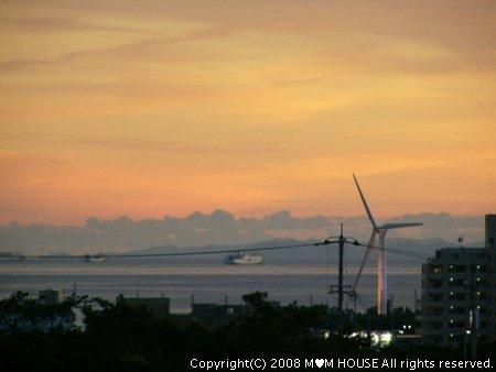 チリコンカンdeグラタン風☆ 夕焼け~♪ 海の夕焼け~♪_c0139375_19493559.jpg
