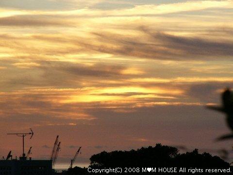 チリコンカンdeグラタン風☆ 夕焼け~♪ 海の夕焼け~♪_c0139375_195069.jpg