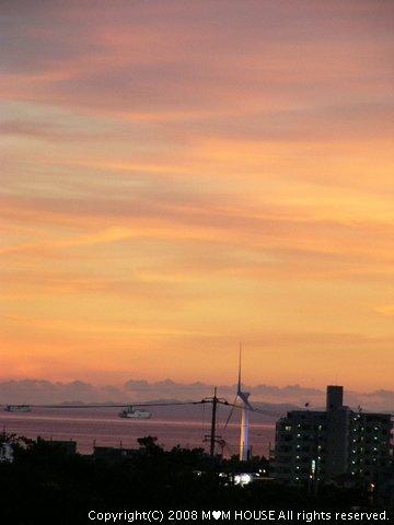 チリコンカンdeグラタン風☆ 夕焼け~♪ 海の夕焼け~♪_c0139375_1952227.jpg