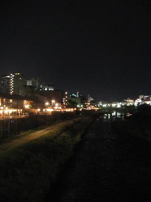 """""""鴨川""""沿いで味わう""""京鴨""""・・・「いしがま亭」_c0001578_23274974.jpg"""