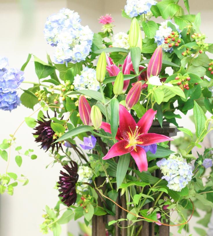 単発生花レッスン 7月10日 花瓶に活ける初夏の花報告_a0042928_21481261.jpg