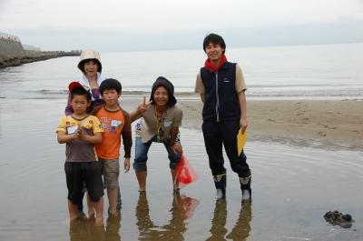 「大阪湾生き物一斉調査」 in  せんなん里海公園_c0108460_2222591.jpg