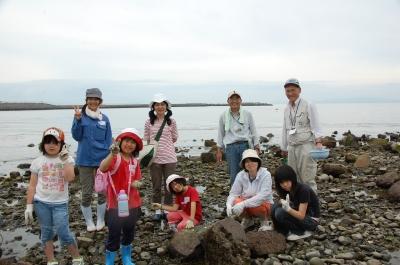 「大阪湾生き物一斉調査」 in  せんなん里海公園_c0108460_22345511.jpg