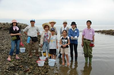 「大阪湾生き物一斉調査」 in  せんなん里海公園_c0108460_22375138.jpg