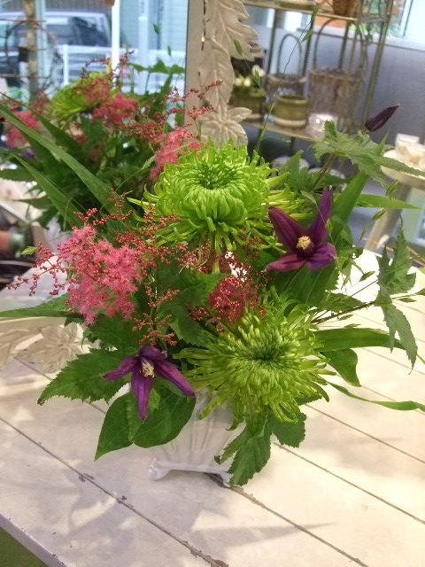 オークリーフ花の教室(梅雨の季節に)_f0049672_17481224.jpg