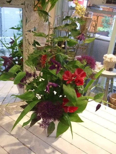 オークリーフ花の教室(梅雨の季節に)_f0049672_1752776.jpg