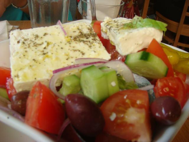 ギリシャ街のギリシャ料理を案内して、_d0100880_9252874.jpg