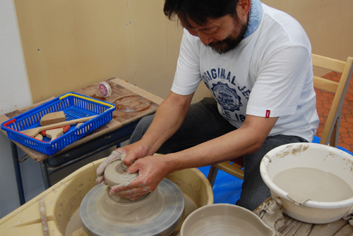 麦ちゃんの陶芸教室の巻_a0041925_0481750.jpg