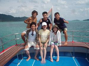 6月20日 ラチャヤイ島にご兄弟姉妹をお連れして_d0086871_19333385.jpg