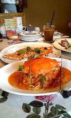 レストランにて・・・_e0040673_21303871.jpg