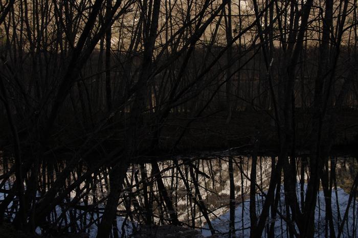 上高地の大正池から河童橋へ向かう途中の桟橋からの風景です。皆さんは二日酔いではなく元気に歩いており狭い橋の上では気持ちだけで撮った一枚です(笑)ほんとうです。。。