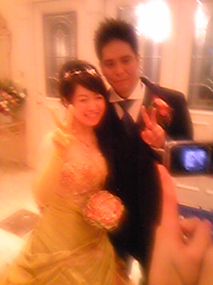 お幸せにo(^-^o)(o^-^)o_e0002794_1664343.jpg