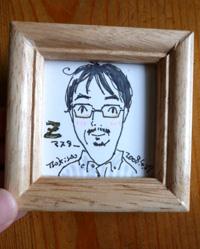 朧堂雑貨展〜あなたの似顔絵描きます_a0017350_0545045.jpg
