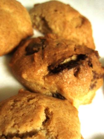 チョコクランキー in 全粒粉クッキー。_c0119259_1322038.jpg