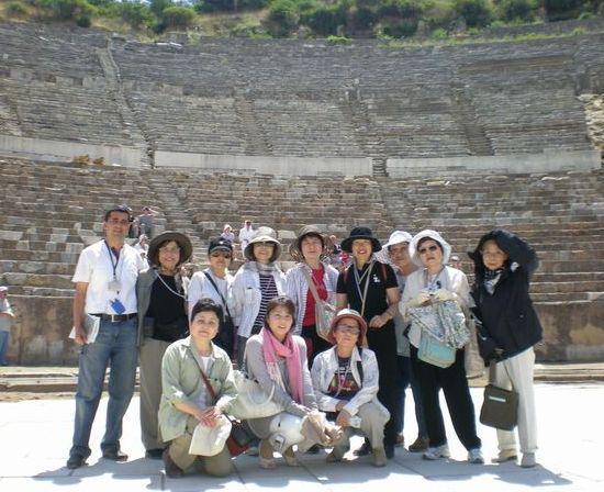 6月24日(水)トルコ旅行③・・・イズミール~エフェソス~パムッカレ_f0060461_23211089.jpg